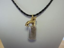 Coy-wolf Spirit Totem Pendant Necklace by DaybreaksDawn