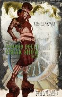 Voodoo Dolly Freak Show Circus by misfitmalice