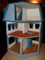 Les Shoppes Dollhouse Project DONE: Back by kayanah