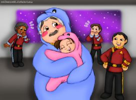 OTFC #11 Wearing Kigurumi by cuddlesaurus21