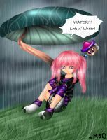 Rainy Day: Tomo 2 by AnotherLuciDreamer