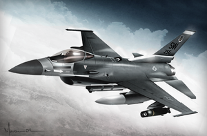 F-16 Fighter by edde