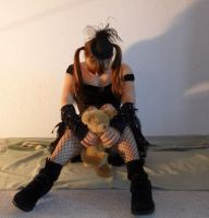 a doll and its teddy13 by Amliel