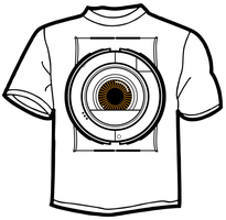 Portal 2 Space-Sphere T-Shirt by TheZeis