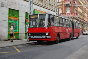 Ikarus 280 trolleybus in Budapest by morpheus880223