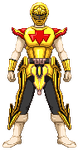 Commission: Noble King Ranger Game Sprite by R-Legend