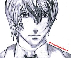 Light Yagami From Death Note by MyHeartBleeds4Edward