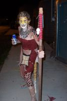 cheetah costume plus beer by missmonster