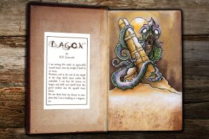Markers Dagon by ArkhamFreshFish