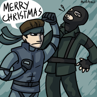 Christmas is early this year by Plus5Pencil