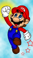 Collab: Mario by HamSamwich