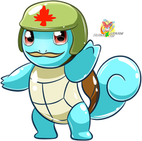 The Brave Squirtle by Stacona