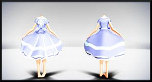 Blue Sweet Lolita Dress- DL by MichiKairin