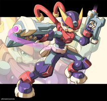 Megaman Model A by ultimatemaverickx