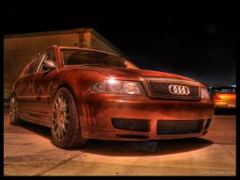 Genesis' Audi Night Time HDR by andiesavestheday