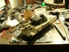 Tamiya 1/35 Panther A wip 3 by DelosQAndrews