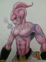 epic kid buu by kidkb09