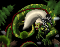 Laughing Jack, The Mighty Naga-Rider XD by Sapphiresenthiss