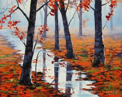 Fallen Leaves by artsaus