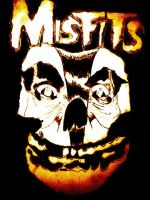 The Misfits:The Haunted Crimson Skull by CharlesCombs8526