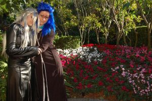 Saix and Xemnas by Ishtarl-Demonic-Fox