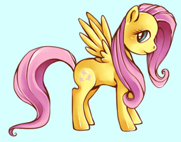 MLP: Fluttershy by cannorachan