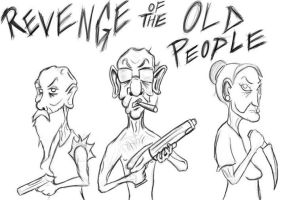 Revenge of the Old People by SINGLETON930