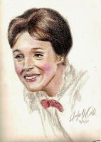 Mary Poppins Redrawn by carlotta-guidicelli