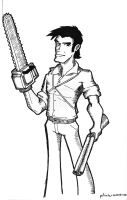 Ash - Army of Darkness by tolemach
