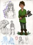 HTTYD and doodles by disneylife