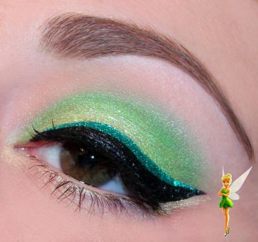 Disney Series : Tinkerbell inspired makeup by Luhivy