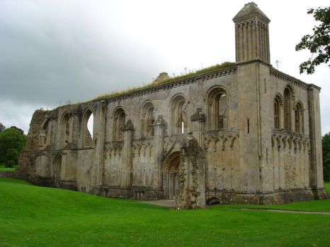 Glastonbury Abbey 6 by WiccanGodess