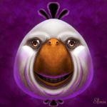 White Angry Bird! by SimplySerg