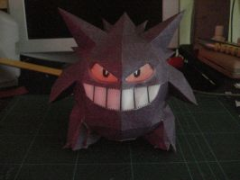 Gengar doll by DeityKnight-Omega