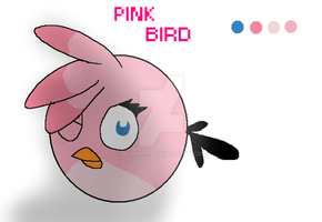Pink Bird by munir99