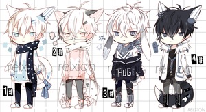 [AUCTION*CLOSED]Lineheart*53 by Relxion-kun