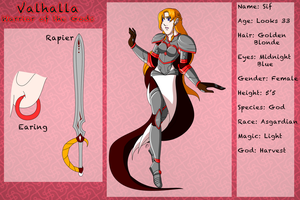 Valhalla Warrior of the Gods - Sif by TaCDLunaria91