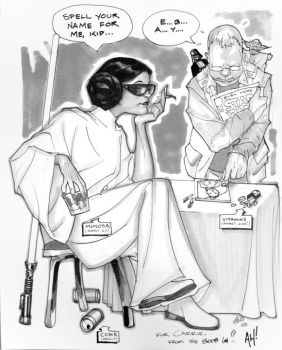 Princess Layover by AdamHughes