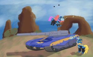 Planetside vs MLP: Vanguard crew by Westy543