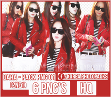Dara (2NE1) - PACK PNG #01 by JeffvinyTwilight