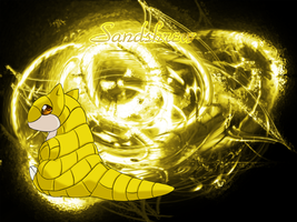 Sandshrew by Lenval