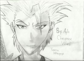 Toshiro sexiness by MarluxiaxDemyx