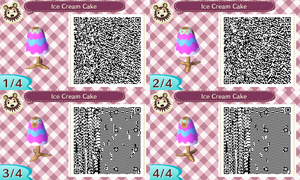 Ice Cream Cake top QR Code by Bjnix248