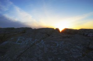 Sunset from Mountain Top III by HenrikSundholm