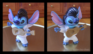 Stitch As Elvis - McD Bobble by The-Toy-Chest