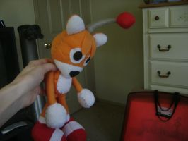 Tails Doll again by SpitFireLex