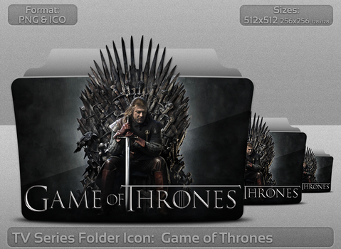 Game of Thrones TV Serie Folder Icon by atty12