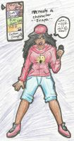 Sirapa the Rapper: Recreate a Character by SebastiansSire