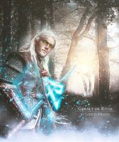 Geralt The Rivia by LaercioMessias