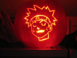 Naruto Pumpkin by DestineChaos